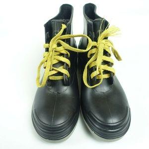 Steel Shank Toe Slip Resistant Rubber Boots